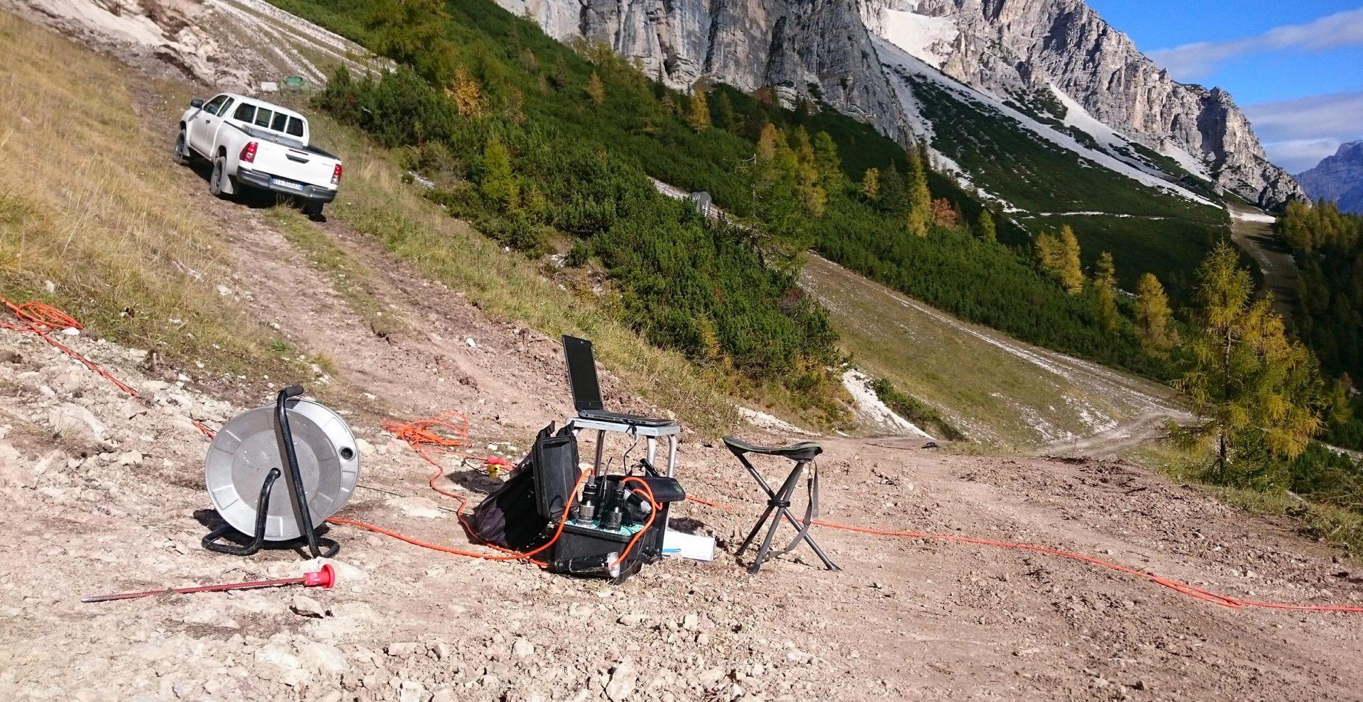 Progettazione geologica, geotecnica, sismica, Indagini geofisiche e geognostiche